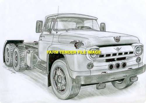 WANTED Ford F800 or F8000 Truck