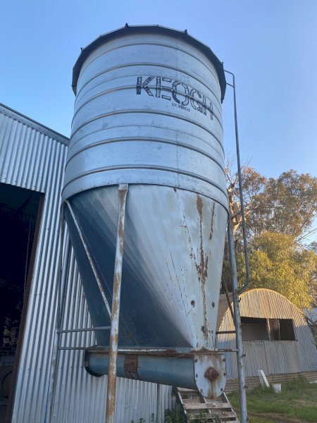 Under Auction - (A141) - 15t Keogh Silo - 2% + GST Buyers Premium On All Lots
