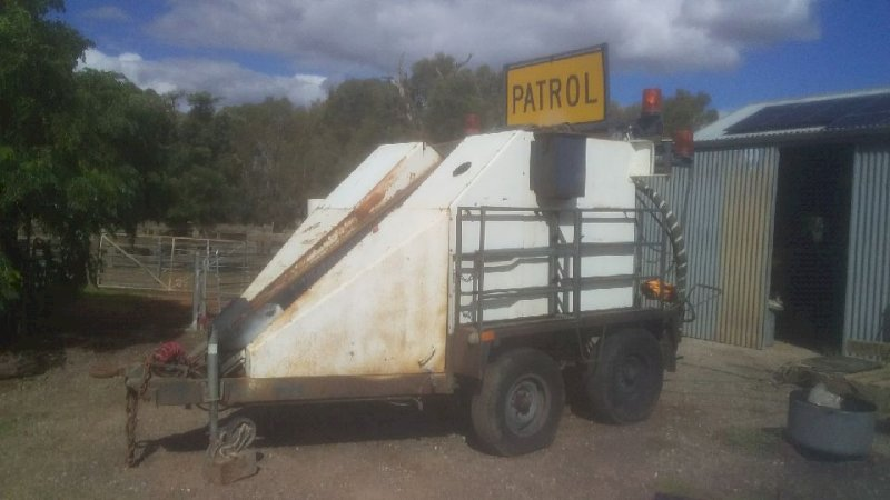 """Paveline Patch Mobile  Tow behind road patching unit. """""""""""" Price Reduction"""""""""""""""