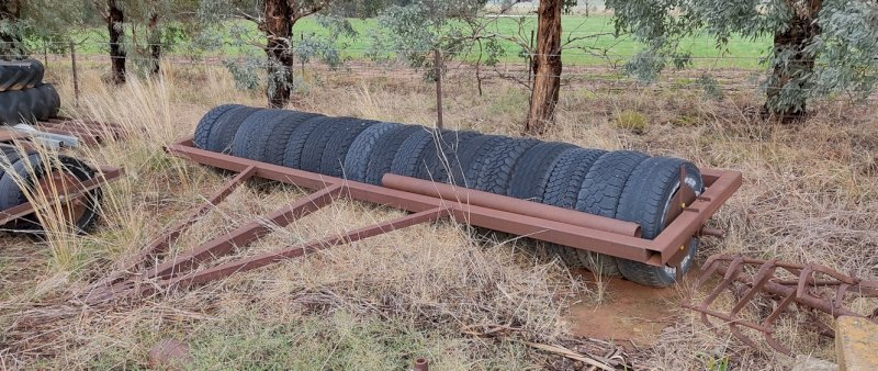 14.5ft Rubber Tyre Roller