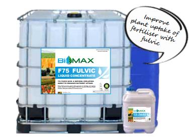 BioMax f75 Fulvic Liquid Concentrate