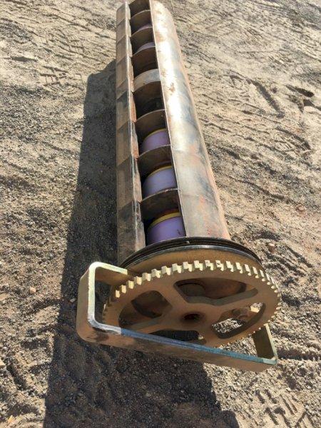 2 x John Deere Meter Rollers