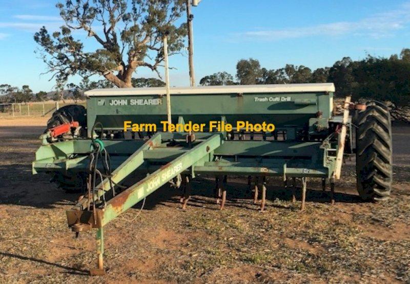 WANTED 21 run Shearer Direct Drill Combine