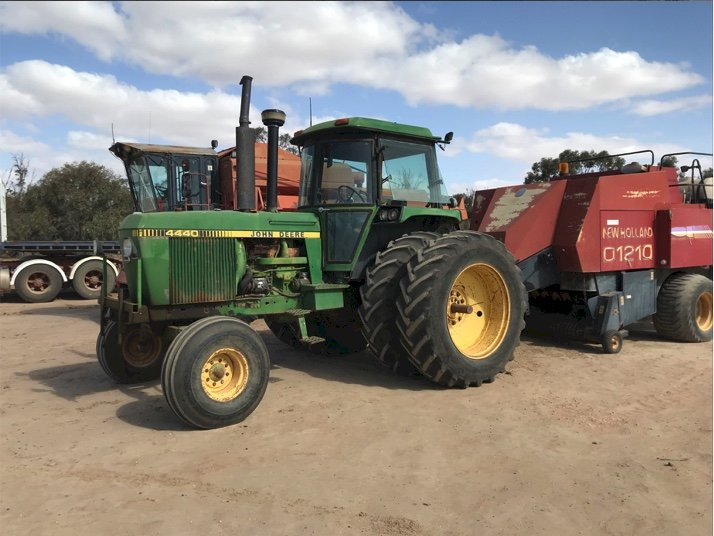 Under Auction - (A146)  John Deere 4440 tractor - 2% + GST Buyers Premium On All Lots