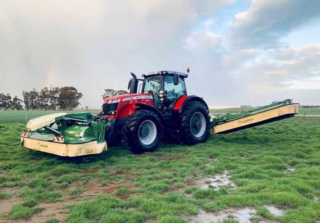 Massey Ferguson 8730 & 8732 Tractor FOR HIRE x 3