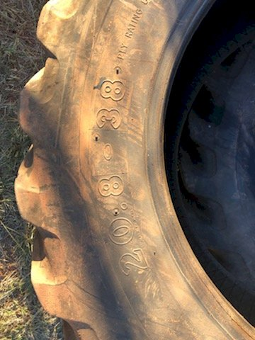 8 x Olympic Gripster 20.8.38 Tyres