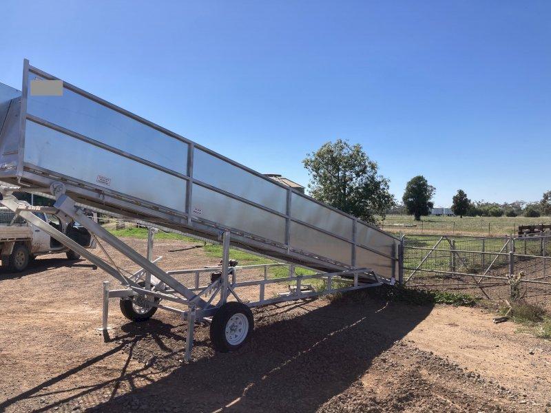 6 metre Mobile Sheep Ramp