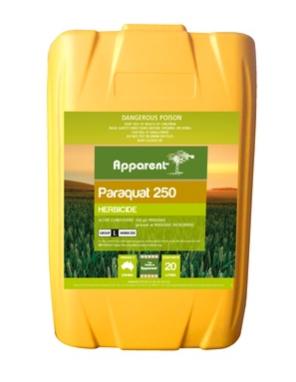 Apparent Paraquat 250 20Ltrs - Ex Shepparton