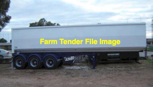 WANTED Aluminium 34-36ft Tri Axle Tipper