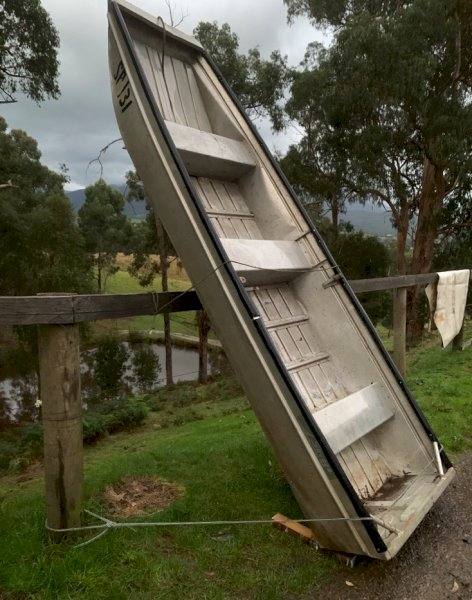 Under Auction - (A151) - 12Ft Duck Punt Boat - 2% + GST Buyers Premium On All Lots