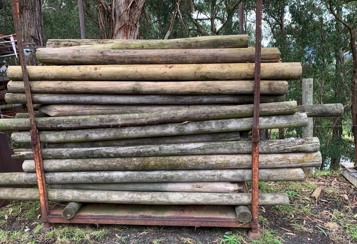 Under Auction - (A151) - Assorted Pine Posts - 2% + GST Buyers Premium On All Lots