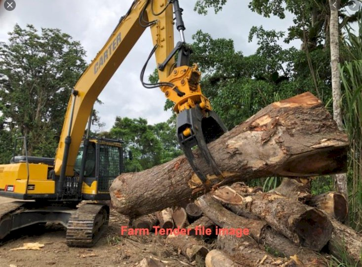 WANTED Log Grab to suit 30t Kato Excavator