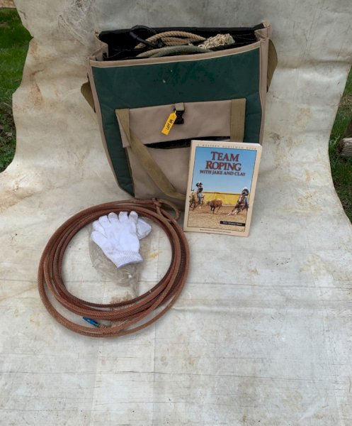 Under Auction - (A151) - Roping Bag & Extra's - 2% + GST Buyers Premium On All Lots