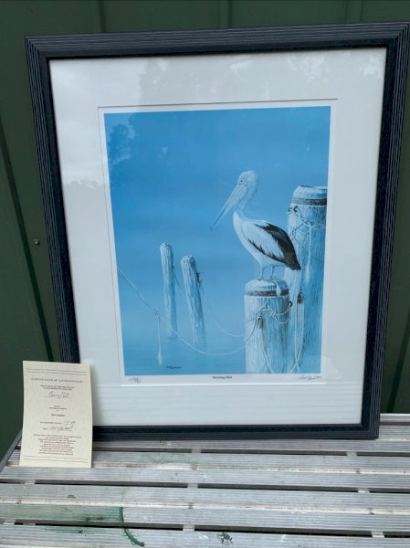 Under Auction - (A151) - Pelican Picture - 2% + GST Buyers Premium On All Lots