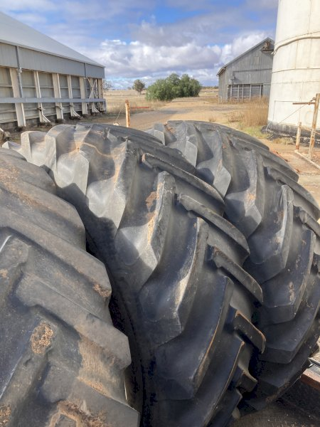 2 x 20.8 x 38 Goodyear Gripster Tractor Tyres