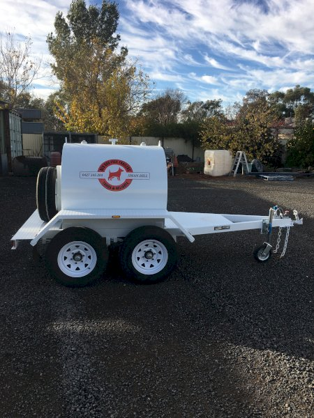 2021  Red Dog 1200 lt Fuel Trailer