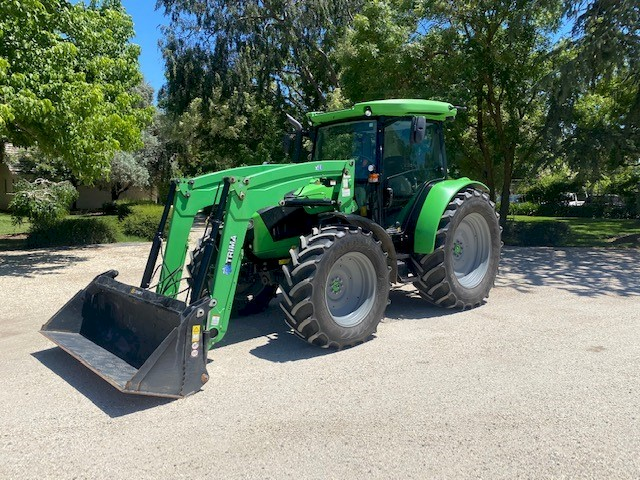2017 Deutz Fahr 5120C Tractor with Trima X56 Loader