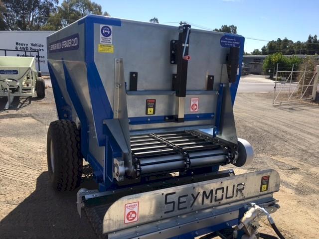 New Seymour 3200 Mulch Spreader