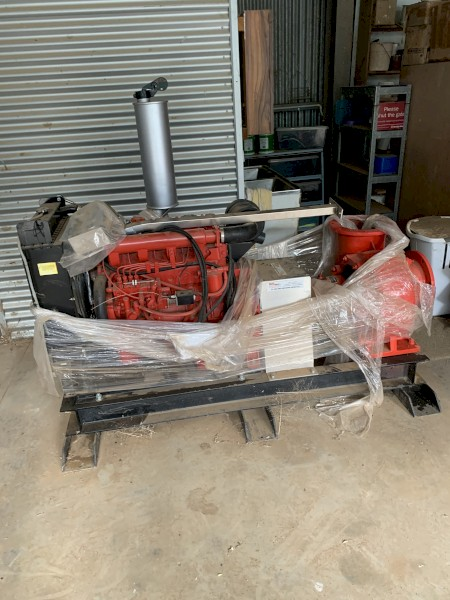 80HP Irrigation pump with 10HBG40 pumpset