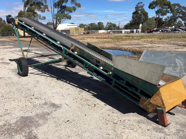 Fire Wood Conveyor or Grain or Fertiliser