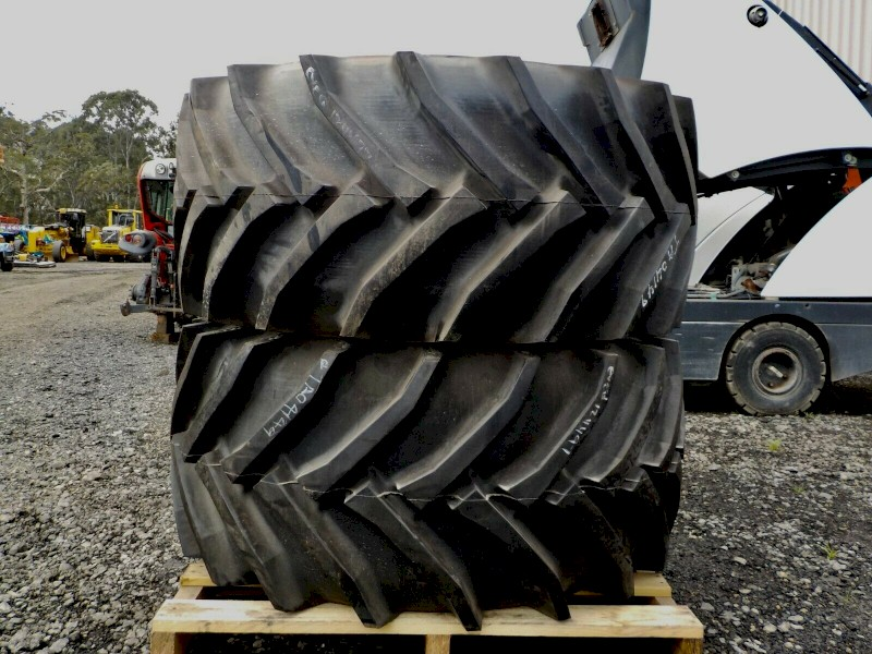 2x Brand New Trelleborg Twin 414 Heavy Lug Industrial/Tractor/Tyres/600/55 R30.5