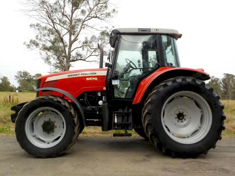 Late Model Massey Ferguson 5470 Dyna 4 125hp Agricultural Farm Tractor