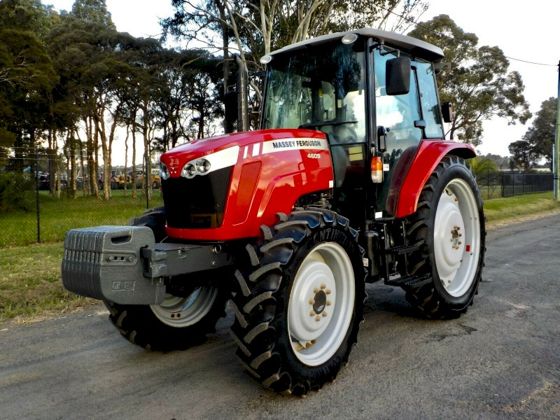 Late Model 2015 Massey Ferguson 4609 4x4 Agricultural Farm Tractor 90hp