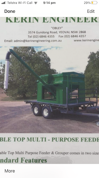 WANTED Small Grouper or Feed Trailer