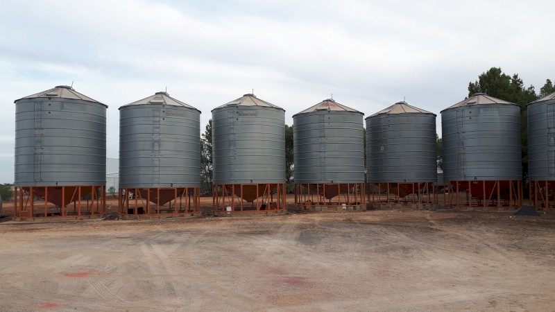 Sherwell silos