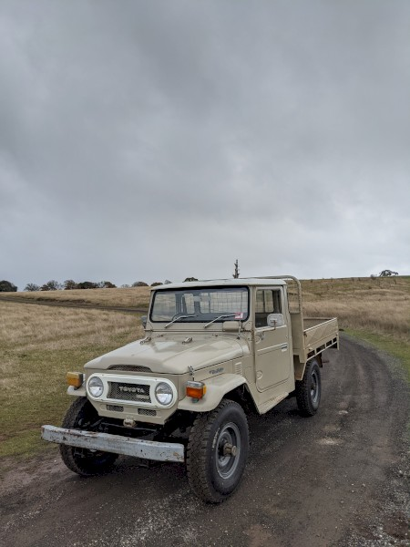 WANTED Old Toyota Landcruisers