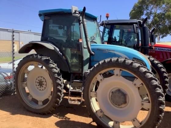 2012 Landini Galileo High Clearance Four Wheel Drive Row Crop Tractor