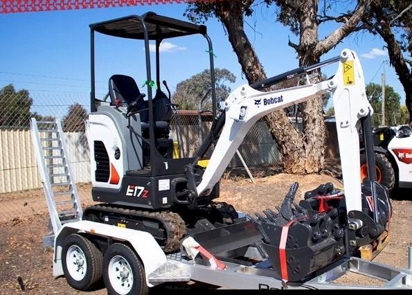 Bobcat E20 Mini Excavator for Hire or Sale