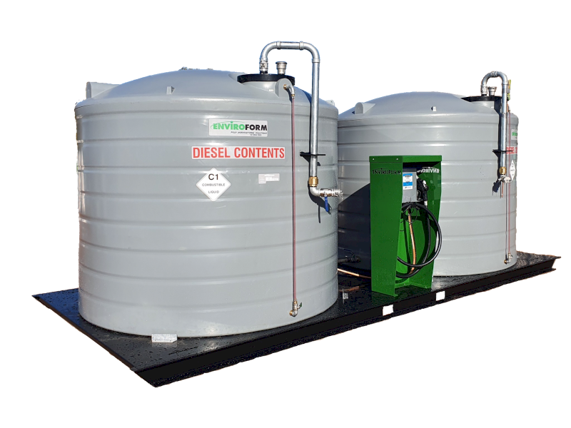 Diesel Tanks- Pumping Stations and Bore Storage Tanks