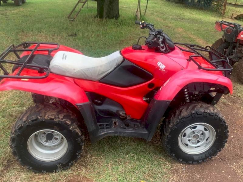 Honda TRX420 4WD Motorbike