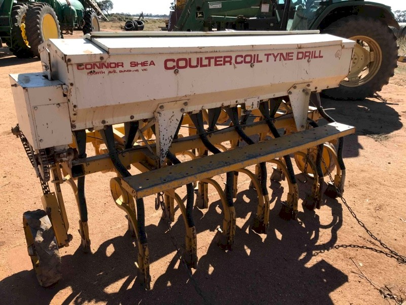 Connor shea Coulter Coil Tyne Drill